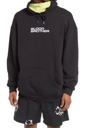 Blood Brother Men's Chambers St. 1072 Logo Hoodie With Face Cover