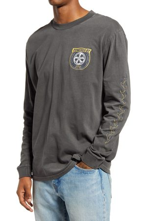 Rollas Men's Men's Ford Tryre Long Sleeve Graphic Tee
