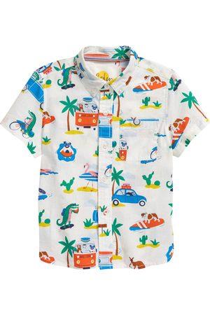 Boden Toddler Boy's Kids' Vacation Button-Down Shirt