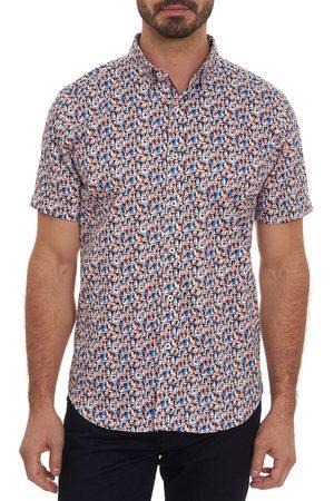 Robert Graham Men's Sail Away Classic Fit Short Sleeve Button-Up Sport Shirt