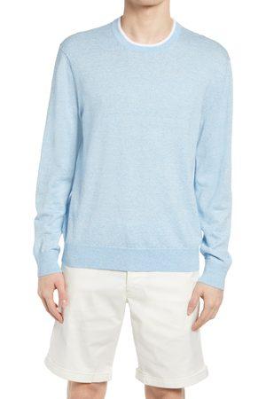 CLUB MONACO Men's Linen Blend Crewneck Sweater