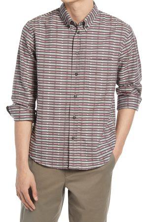 BILLY REID Men's Tuscumbia Stripe Button-Down Shirt