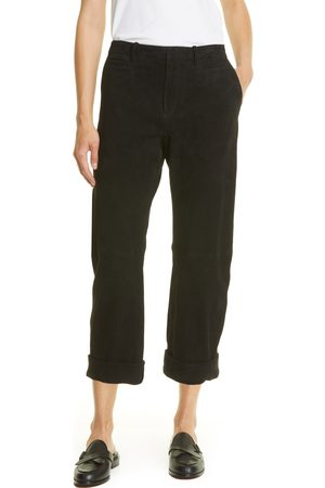 Frame Women's Easy Faux Suede Pants