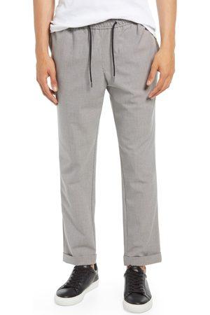 Open Edit Men's Men's E-Waist Plaid Stretch Pants