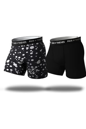 Pair Of Thieves Men's Assorted 2-Pack Superfit Performance Boxer Briefs