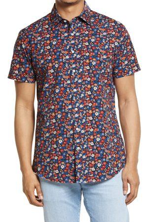 Rodd & Gunn Men's Darfield Sports Fit Floral Short Sleeve Button-Up Shirt