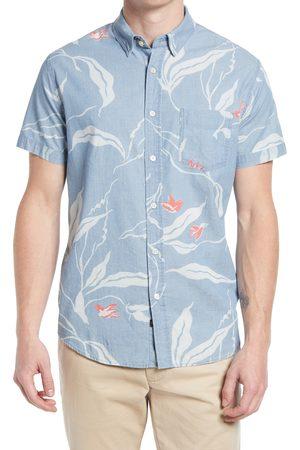 Rails Men's Monaco Print Short Sleeve Button-Up Shirt