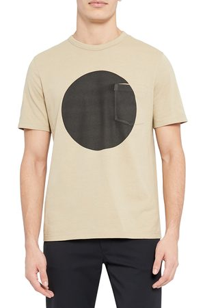 THEORY Men's Essential Sphere Pocket Graphic Tee