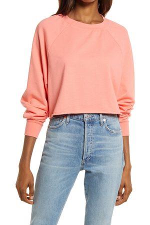 Treasure & Bond Women's Crop Crewneck Sweatshirt