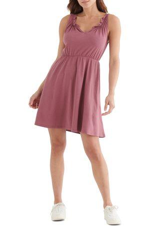 Lucky Brand Women's Sleeveless Babydoll Dress
