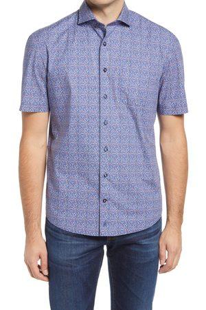 Johnnie-o Men's Talley Floral Short Sleeve Button-Up Shirt