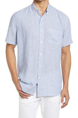 Rails Men's Carson Short Sleeve Linen Blend Button-Up Shirt