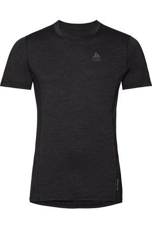 Odlo Men's Men's Merino Wool Blend Crewneck T-Shirt