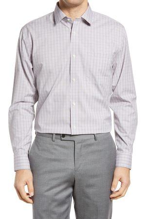 Nordstrom Men's Smartcare Trim Fit Check Dress Shirt