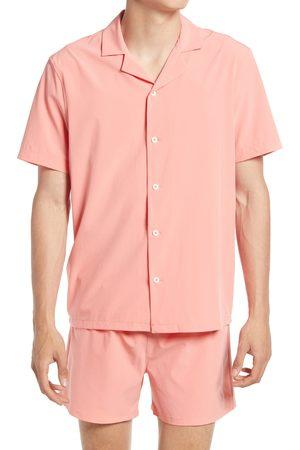 Open Edit Men's Men's Print Cabana Shirt