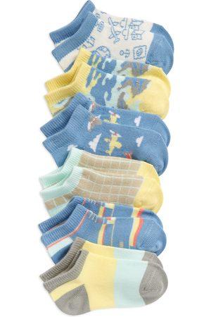 Tucker + Tate Toddler Boy's Kids' Airplanes 6-Pack Low Cut Socks