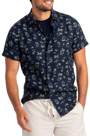 Rodd & Gunn Men's Somes Island Linen Short Sleeve Button-Up Shirt