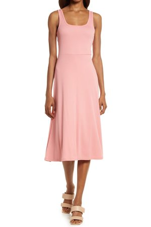 Treasure & Bond Women's A-Line Tank Midi Dress