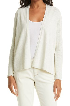 Eileen Fisher Women's Basic Open Front Organic Cotton & Linen Cardigan