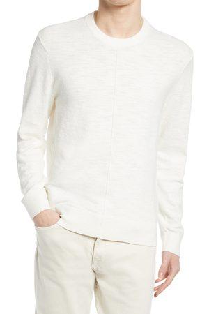 CLUB MONACO Men's Slub Crewneck Sweater
