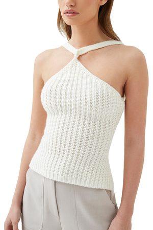 4th & Reckless Women's Lauren Sweater Halter Top