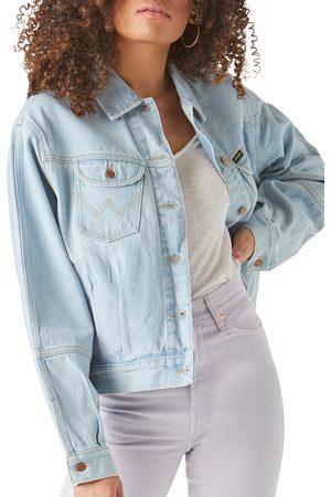 Wrangler Women's Western Utility Denim Jacket