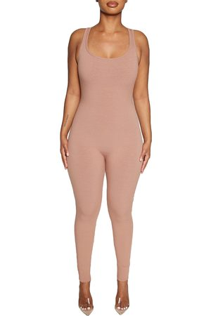 Naked Wardrobe Women's All Snatched Sleeveless Jumpsuit