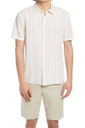 Vince Men's Regular Fit Short Sleeve Button-Up Shirt