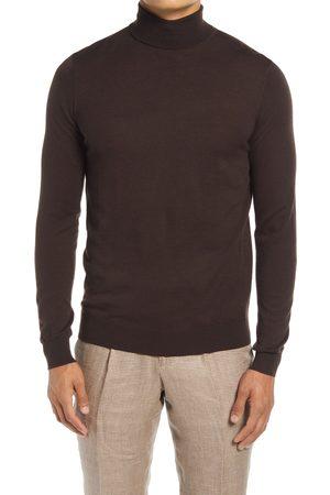 SUITSUPPLY Men's Merino Wool Turtleneck Sweater