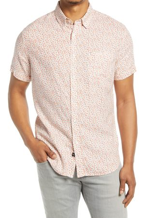 Rails Men's Carson Floral Print Short Sleeve Button-Up Shirt