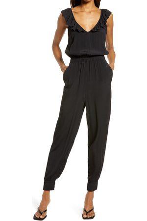 Chelsea Women's Ruffle Neck Jumpsuit