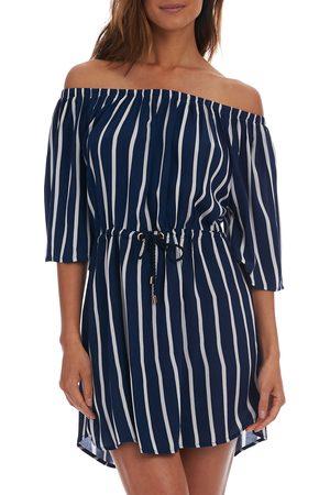 La Blanca Women's Capri Off The Shoulder Cover-Up Dress