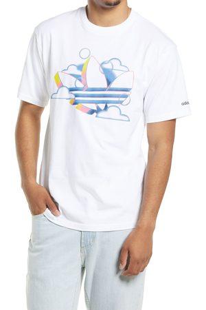 adidas Men's Men's Summer Trefoil Graphic Tee