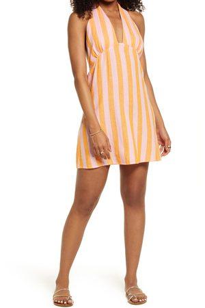 BP. Women's Linen Halter Dress