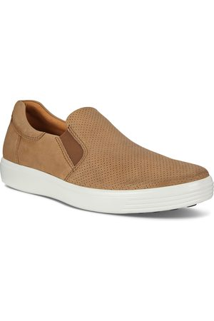 Ecco Men's Soft 7 Perforated Slip-On Sneaker