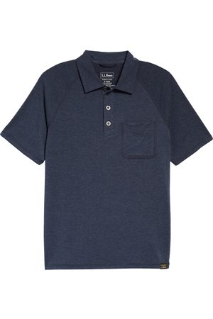 L.L.BEAN Men's Regular Fit Everyday Sunsmart Short Sleeve Polo Shirt