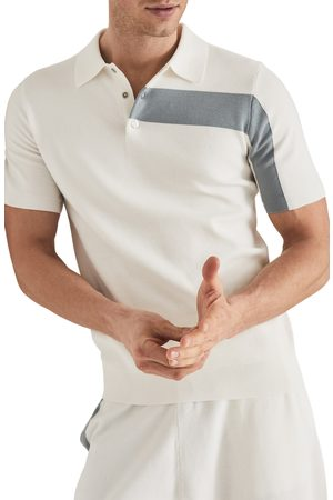 Reiss Men's Wade Colorblock Short Sleeve Polo