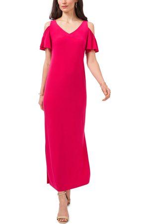Chaussmoi Women's Cold Shoulder Maxi Dress