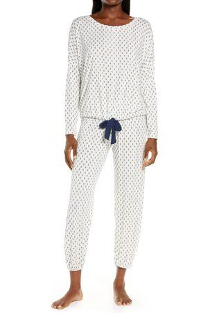 Eberjey Women's Gisele Print Slouchy Pajamas