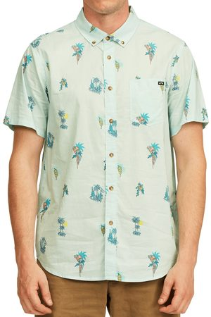 Billabong Men's Sundays Mini Short Sleeve Button-Down Shirt
