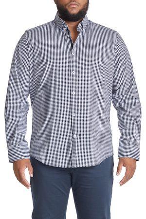 Johnny Bigg Men's Big & Tall Declan Gingham Stretch Button-Down Shirt