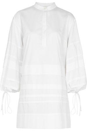Victoria Beckham Women Dresses - Pleated cotton dress