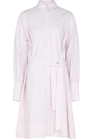 Victoria Beckham Women Casual Dresses - Striped cotton shirt dress