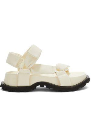 Jil Sander Women Sandals - Padded Nappa-leather Flatform Sandals - Womens