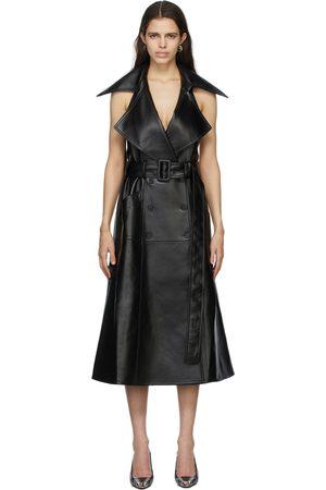 Matériel Tbilisi Faux-Leather Dress
