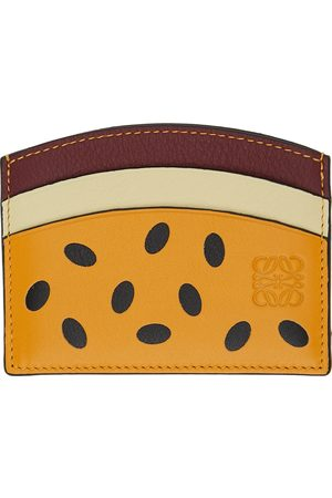 Loewe Women Wallets - Yellow Paula's Ibiza Passion Fruit Plain Card Holder