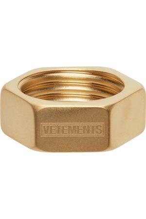 Vetements Men Rings - Nut Ring