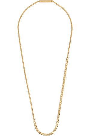 Bottega Veneta Men Necklaces - Gold Multi Chain Necklace