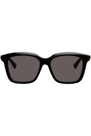 Bottega Veneta Men Sunglasses - Black Rectangle Sunglasses