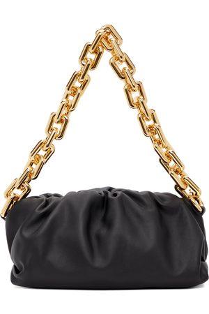 Bottega Veneta Women Clutches - Black 'The Chain Pouch' Clutch